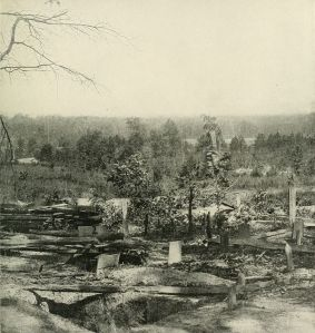 Confederate Graves at the Battle of Peachtree Creek, July 20, 1864 One is Albert's.
